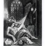 Illustration from Mary Shelley's Frankenstein
