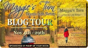 Maggie's Turn Book Tour