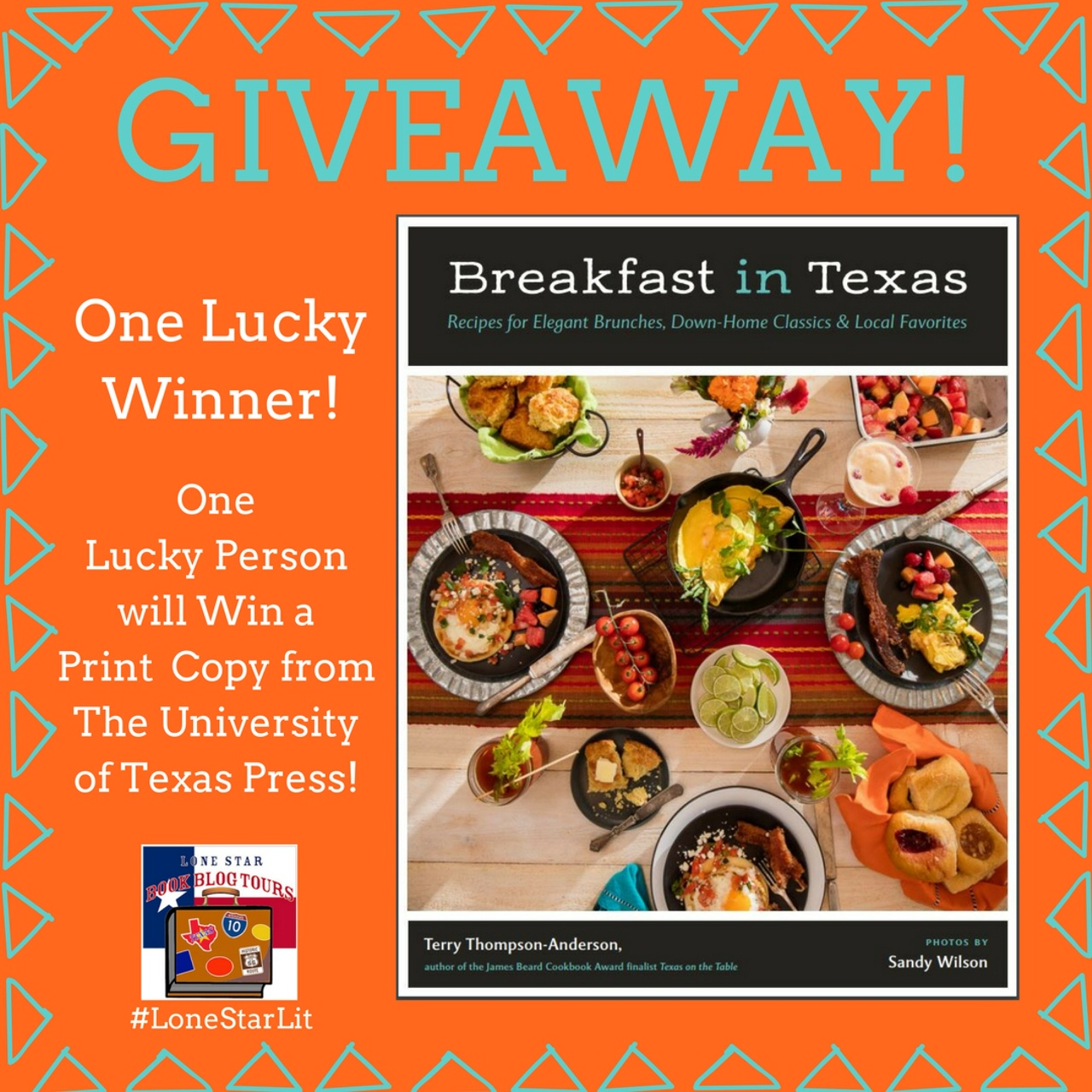 Breakfast in Texas Giveaway