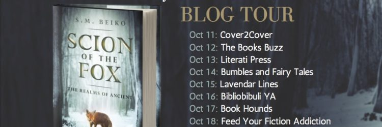 Scion of the Fox Blog Tour