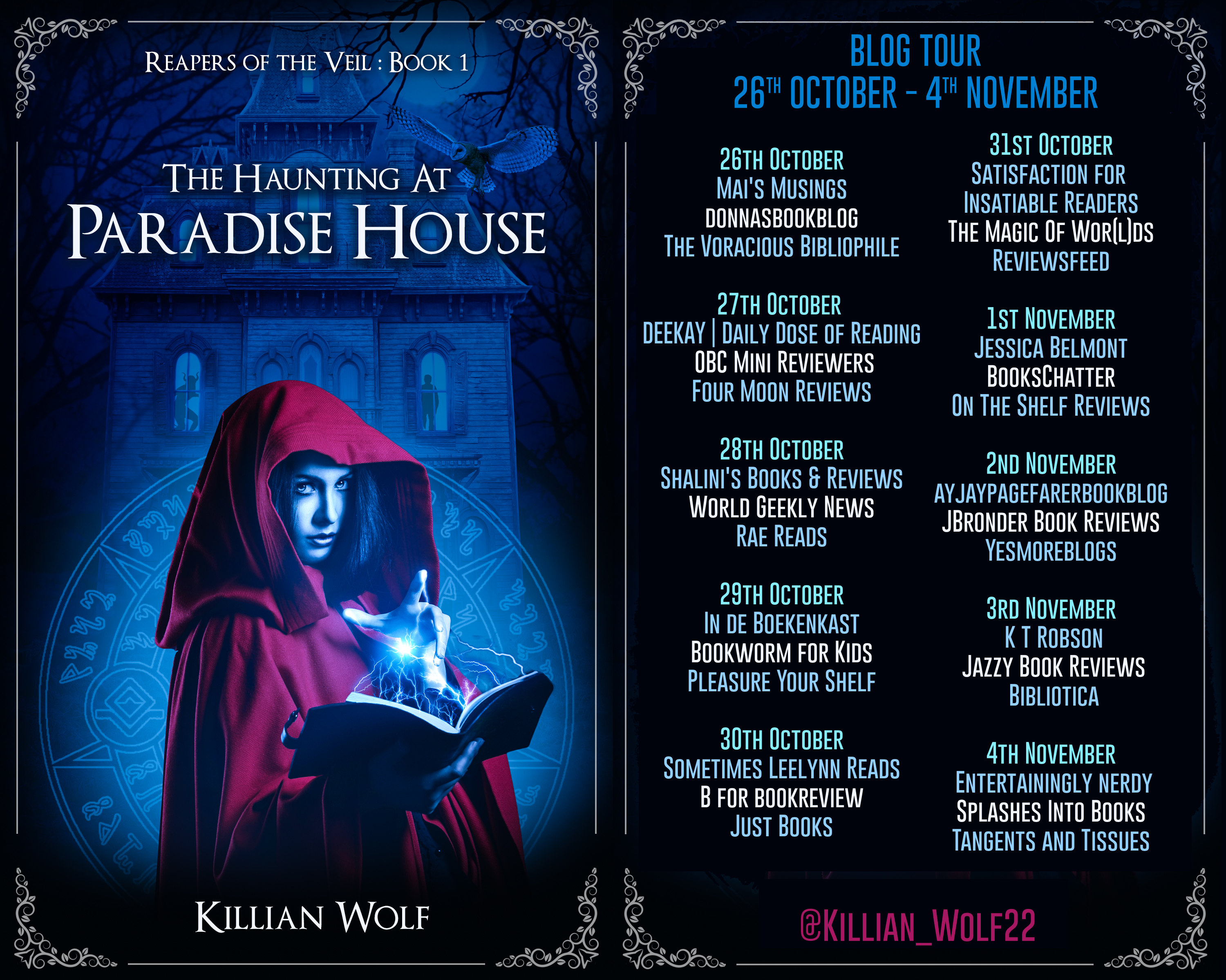 The Haunting at Paradise House Full Tour Banner