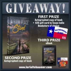 Giveaway A Firm Place SMALL