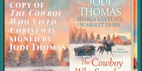 Giveaway Cowboy Saved Christmas SMALL