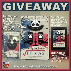Giveaway Square Root of Texas SMALL
