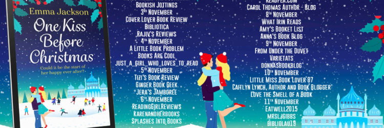 One Kiss Before Christmas Full Tour Banner