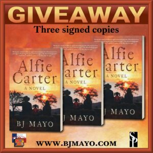 Giveaway Alfie Carter SMALLER