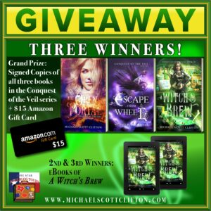 Giveaway A Witch's Brew